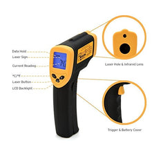 Etekcity Lasergrip 774 Non-contact Digital Laser IR Infrared Thermometer, -50°C - 380°C