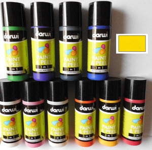 Darwi 3 in 1 Peel Paint Yellow