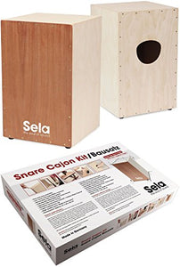 Sela Snare Cajon Assembly Kit with Instructions and Audio CD