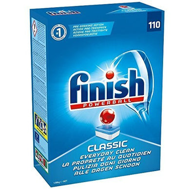 Finish Classic Dishwasher Tablets - Pack of 110 Tablets