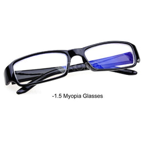 Hot Black Eyeglass Frames Myopia Glasses -1 -1.5 -2 -2.5 -3 -3.5 -4 -4.5 -5.5 -6