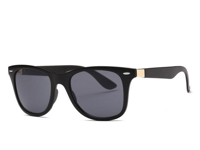 Unisex Sunglasses Artificial Wood Grain Sun Glasses