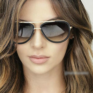 Women Sun Glasses 2017 UV400 Coating Mirror Lens Female Vintage