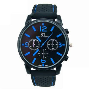 Stainless Steel Sport Cool Quartz Hours Wrist Analog Watch Casual