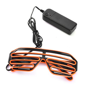 LED Glasses Flashing EL Wire Luminous Party Decorative Lighting