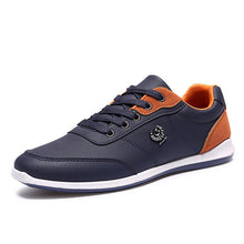 PU Leather Men Shoes Lace Up