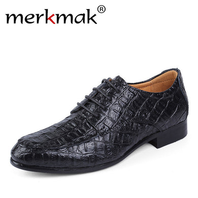 Genuine Leather Oxford Shoes For Business Men