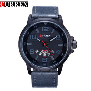 Luxury Brand Military Quartz Watch Men