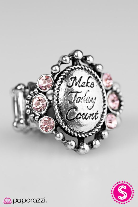 Make Today Count-Pink