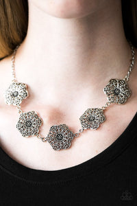 Floral Fluorescence-Silver
