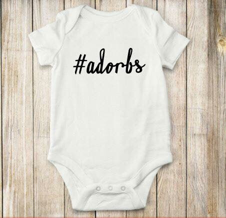Adorbs, onesie, bodysuit, shirt, top, children, baby, tops, girl clothing