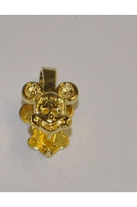 11.5mmx12mm Mickey Mouse Vermeil Pendant Bail