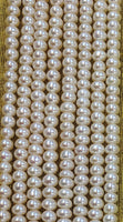 Superfine AAA-quality Button Pearl (3mm-3.5mm)x(2mm-2.5mm)