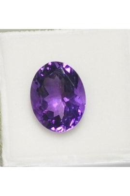 African Amethyst Oval Stone 10mmx13mm (5.00 cts)