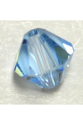 Aquamarine-Color Swarovski Bicone 6mm