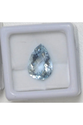 Aquamarine Tear-Drop Stone 15mmx11.5mm (6.28 cts)