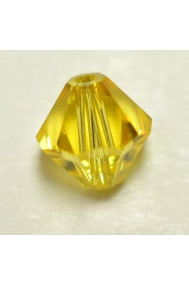Light Topaz Bicone 6mm