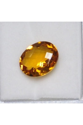 Citrine Oval Stone 12mmx10mm (4.23 cts)