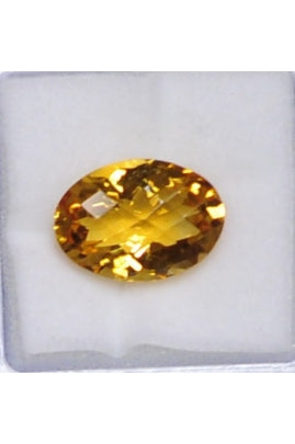 Citrine Oval Stone 15mmx11mm (8.72 cts)