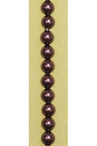 Crystal Burgundy Swarovski Pearl 4mm