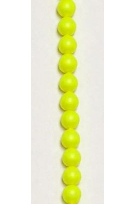 Crystal Neon Yellow Swarovski Pearl 4mm