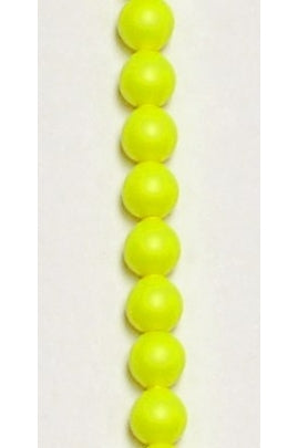 Crystal Neon Yellow Swarovski Pearl 6mm