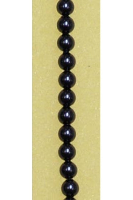Crystal Night Blue Swarovski Pearl 4mm