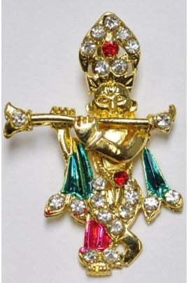 Golden-color Krishan Pendant-2 (40mmx27mm)