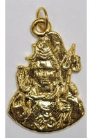 Golden-color Shiva Pendant 32mmx25mm