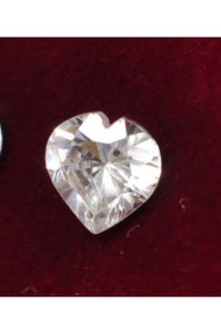 Heart-Shape Cubic Zirconia 6mm