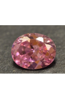 Hot Pink Cubic Zirconia Oval 10mmx8mm