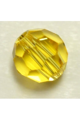 Light Topaz Round 6mm
