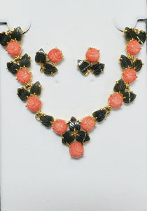 Pink Coral Flat Flower #NF-32