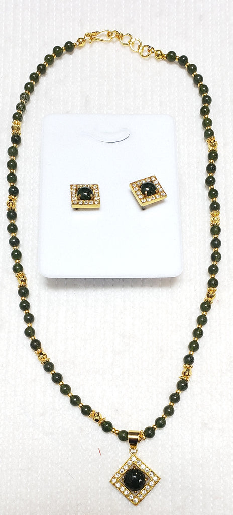 Jade Necklace Set #P-17