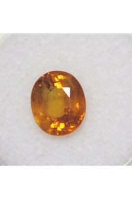Oval-Shape Yellow Sapphire 10.1mmx8.4mm (3.57 ct)