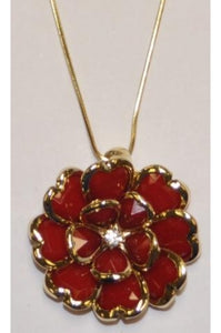 Red Rhodium Crystal