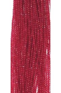 Red-Coated Topaz 2mm