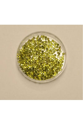 Olive Green Cubic Zirconia 2mm (Sold per 1 single stone)