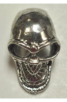 Silver-Color Skull Charm I (26.5mmx17mm)