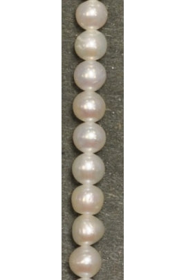 Smooth Fresh Water Pearl 4mm-4.5mm