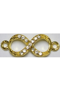 Infinity Charm 10mmx26mm