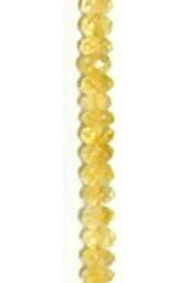 Light Citrine Roundel 5.5mx3mm