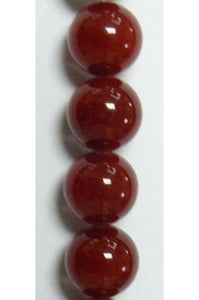 Red Jade 10mm-10.5mm (CLEARANCE)