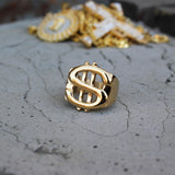 RG021S - US Dollars Sign Ring - Noirdesigner.com