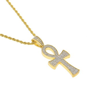 NPGSD049S - Diamond Life Key Necklace - Noirdesigner.com