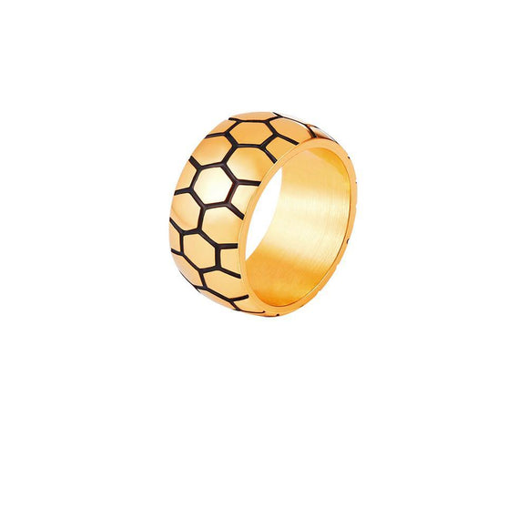 RG0012 - Soccer Ball Ring   - LIMITED TIME INTRODUCTORY GIVEAWAY (FREE ITEM) - Noirdesigner.com