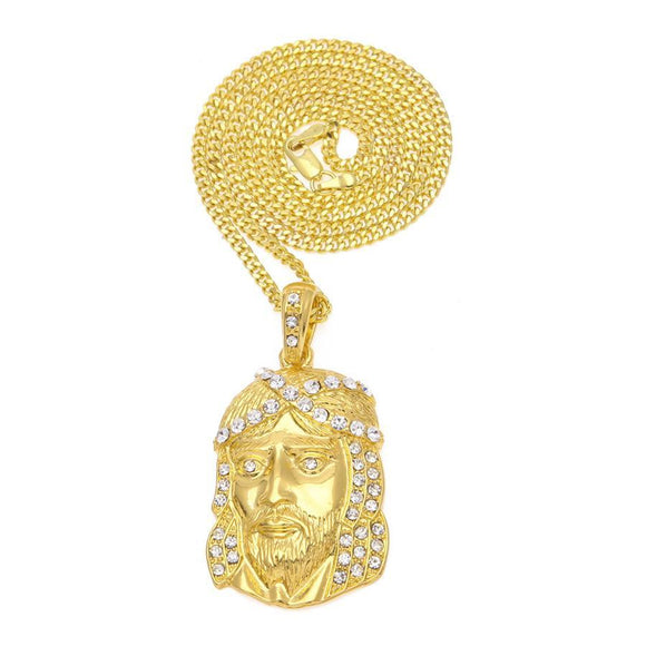 NPGSD05S - Cuban King Jesus Necklace