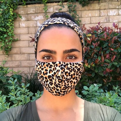 Homemade Leopard Face Mask By On Guard Crafts