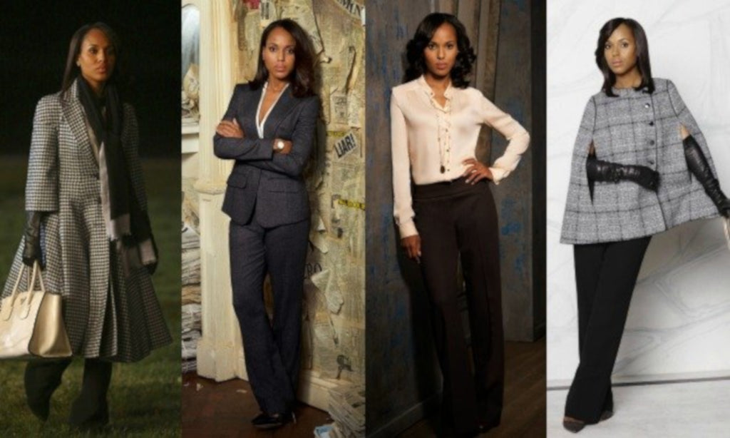 Olivia Pope Wardrobe Scandal Photo By: Hello Beautiful