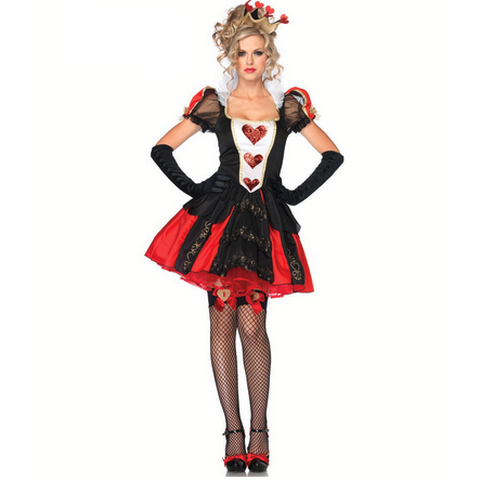 Alice Queen Of Hearts Masquerade Costume  Costumes Edgy Couture